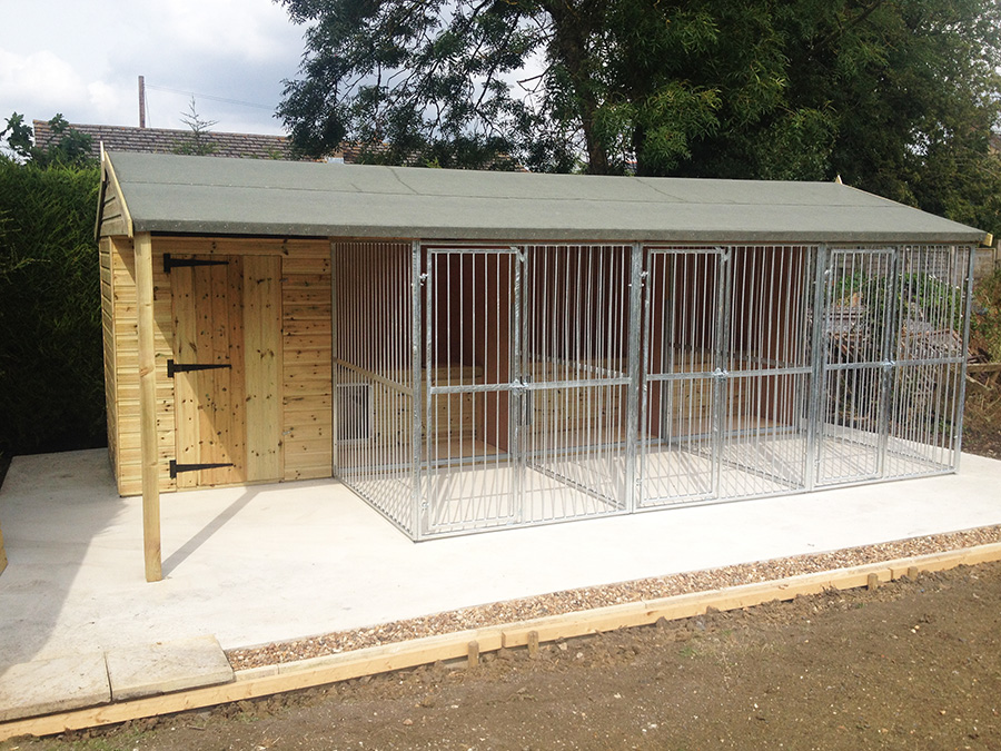 Bespoke Kennels Houses Game Rearing Sheds And Dog Kennels