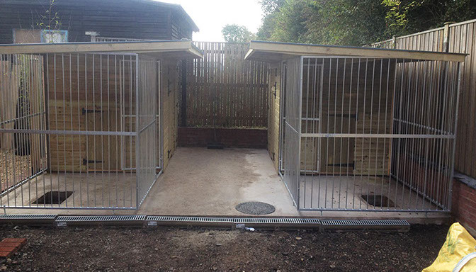 Insulated Dog Kennels And Runs Game Rearing Sheds And